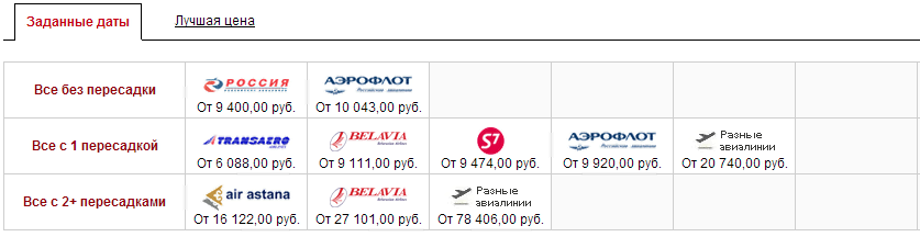 BiletAviaby Купить авиабилеты дешево из Минска билеты